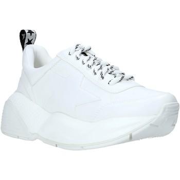 kengät Naiset Matalavartiset tennarit Shop Art SA020043 Valkoinen
