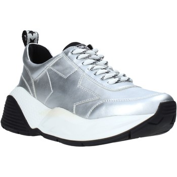 kengät Naiset Matalavartiset tennarit Shop Art SA020040 Hopea