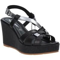 kengät Naiset Sandaalit ja avokkaat Valleverde 32404 Musta