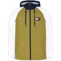 vaatteet Miehet Svetari Tommy Jeans DM0DM08096 Vihreä