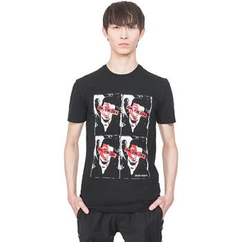 vaatteet Miehet Lyhythihainen t-paita Antony Morato MMKS01743 FA120001 Musta