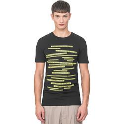 vaatteet Miehet Lyhythihainen t-paita Antony Morato MMKS01749 FA120001 Musta