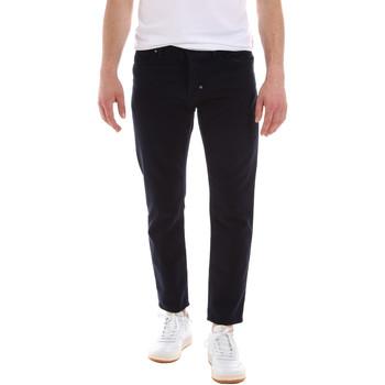 vaatteet Miehet 5-taskuiset housut Antony Morato MMTR00502 FA900123 Sininen