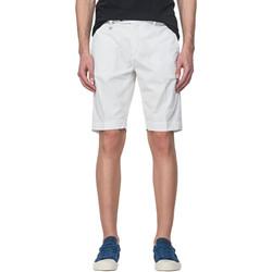 vaatteet Miehet Shortsit / Bermuda-shortsit Antony Morato MMSH00141 FA800129 Valkoinen