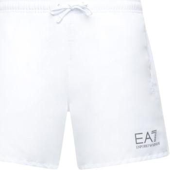 vaatteet Miehet Uima-asut / Uimashortsit Emporio Armani EA7 902000 CC721 Valkoinen