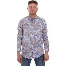 vaatteet Miehet Pitkähihainen paitapusero Sseinse CE502SS Sininen