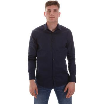 vaatteet Miehet Pitkähihainen paitapusero Sseinse CE506SS Sininen