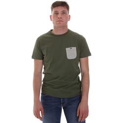 vaatteet Miehet Lyhythihainen t-paita Sseinse ME1588SS Vihreä