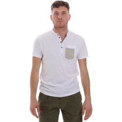 vaatteet Miehet Lyhythihainen t-paita Sseinse ME1600SS Valkoinen