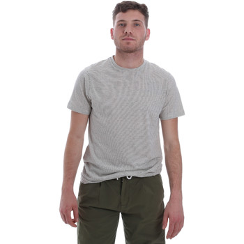 vaatteet Miehet Lyhythihainen t-paita Sseinse ME1603SS Valkoinen