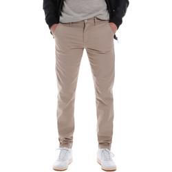vaatteet Miehet Chino-housut / Porkkanahousut Sseinse PSE555SS Beige