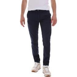 vaatteet Miehet Chino-housut / Porkkanahousut Sseinse PSE555SS Sininen