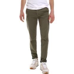 vaatteet Miehet Chino-housut / Porkkanahousut Sseinse PSE555SS Vihreä