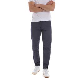 vaatteet Miehet Chino-housut / Porkkanahousut Sseinse PSE569SS Sininen