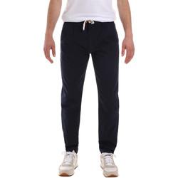 vaatteet Miehet Chino-housut / Porkkanahousut Sseinse PSE612SS Sininen
