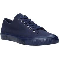 kengät Miehet Matalavartiset tennarit Calvin Klein Jeans B4S0112X Sininen