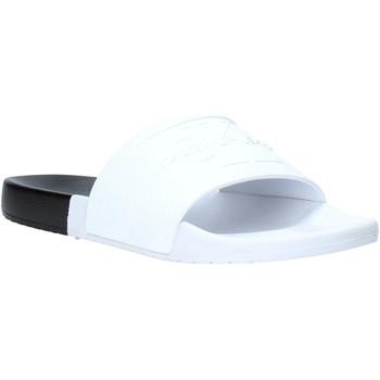 kengät Miehet Rantasandaalit Calvin Klein Jeans B4S0674 Valkoinen