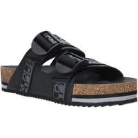kengät Miehet Sandaalit Napapijri NA4ETH Musta