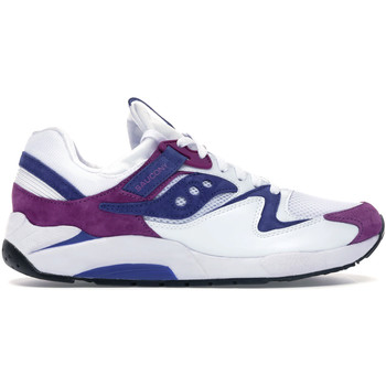 kengät Miehet Matalavartiset tennarit Saucony S70439 Valkoinen