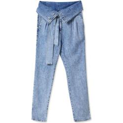 vaatteet Naiset Farkut Liu Jo UA0129 D4461 Sininen