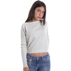 vaatteet Naiset Neulepusero Liu Jo MA0035 MA32H Valkoinen