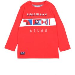 vaatteet Tytöt T-paidat pitkillä hihoilla Losan 015-1002AL Punainen