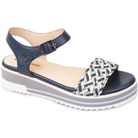 kengät Naiset Sandaalit ja avokkaat Valleverde 15150 Sininen