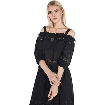 vaatteet Naiset Topit / Puserot Gaudi 811FD45010 Musta