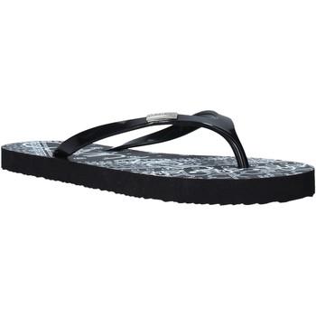 kengät Naiset Varvassandaalit Calvin Klein Jeans E8853 Musta