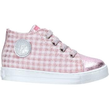 kengät Tytöt Korkeavartiset tennarit Falcotto 2014600 10 Vaaleanpunainen