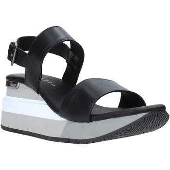 kengät Naiset Sandaalit ja avokkaat Apepazza S0HIGHSEA01/LEA Musta