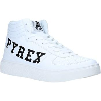 kengät Naiset Korkeavartiset tennarit Pyrex PY020207 Valkoinen