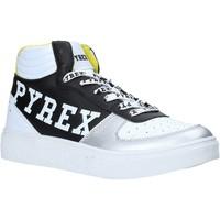 kengät Naiset Korkeavartiset tennarit Pyrex PY020207 Musta
