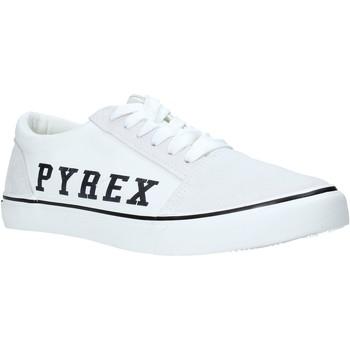 kengät Miehet Matalavartiset tennarit Pyrex PY020201 Valkoinen