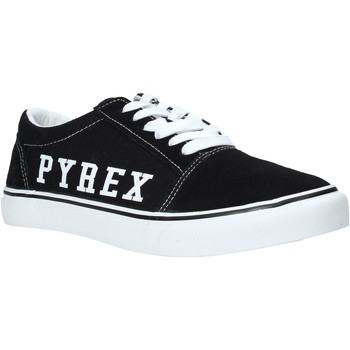 kengät Miehet Matalavartiset tennarit Pyrex PY020201 Musta