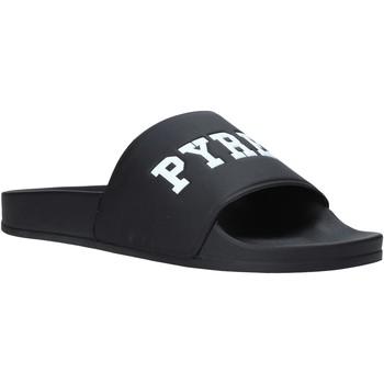 kengät Miehet Rantasandaalit Pyrex PY020167 Musta