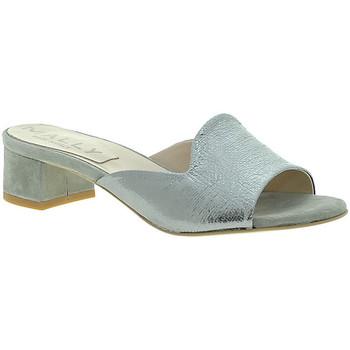 kengät Naiset Sandaalit Mally 6195 Hopea