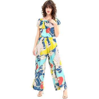 vaatteet Naiset Jumpsuits / Haalarit Fracomina FR20SM032 Sininen