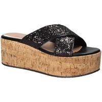 kengät Naiset Sandaalit Fornarina PE18RO2916 Musta