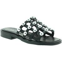 kengät Naiset Sandaalit Mally 6141 Musta