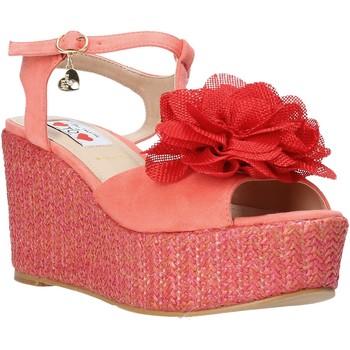 kengät Naiset Sandaalit ja avokkaat Love To Love GIN5106 Punainen