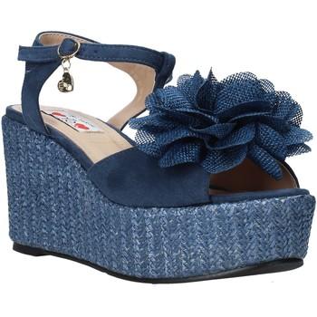 kengät Naiset Sandaalit ja avokkaat Love To Love GIN579 Sininen