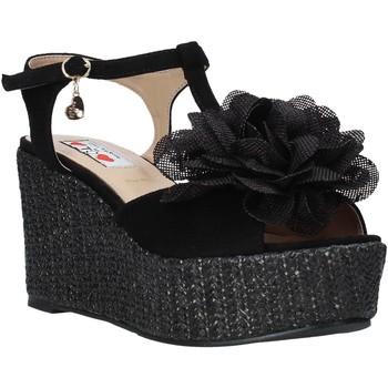 kengät Naiset Sandaalit ja avokkaat Love To Love GIN583 Musta