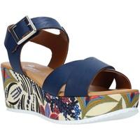 kengät Naiset Sandaalit ja avokkaat Grace Shoes 12 Sininen