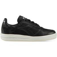 kengät Naiset Matalavartiset tennarit Diadora 201.173.346 Musta