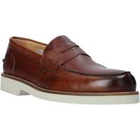 kengät Miehet Mokkasiinit Exton 2102 Ruskea
