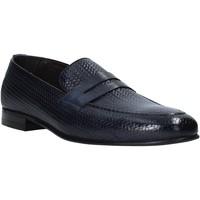 kengät Miehet Mokkasiinit Exton 1021 Sininen
