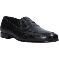 kengät Miehet Mokkasiinit Exton 1021 Musta