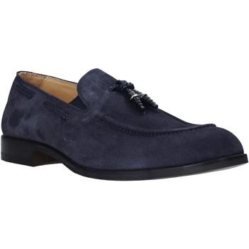 kengät Miehet Mokkasiinit Exton 1111 Sininen
