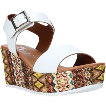 kengät Naiset Sandaalit ja avokkaat Grace Shoes 06 Valkoinen